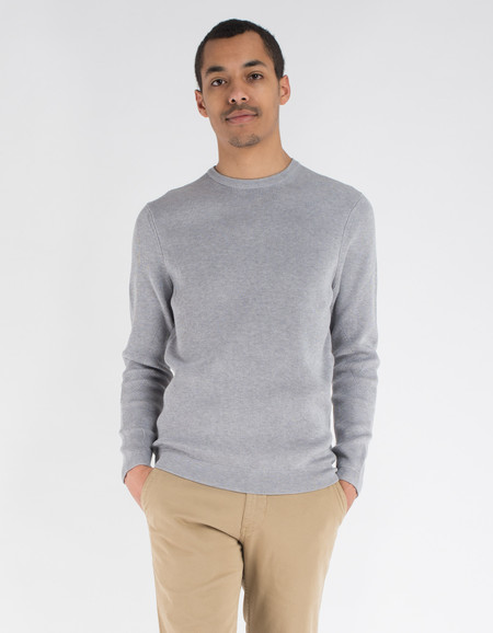 No Nationality Phil Sweater Grey