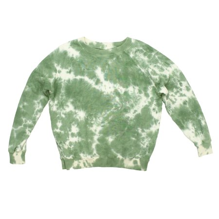 Jungmaven Bonfire Raglan sweatshirt  - Camo Typography