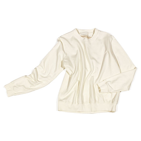 Raquel Allegra Classic Sweatshirt - Dirty White