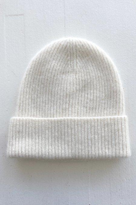 Micaela Greg Rib Hat - Cream