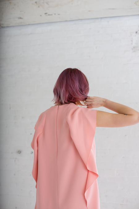 A Détacher Louise Dress in Blush