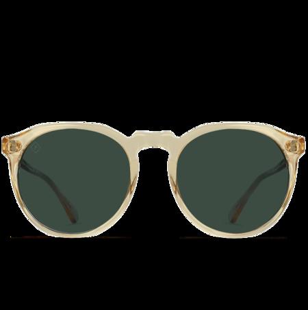 Raen Remmy Sunglasses - Champangne Crystal/Green Polarized