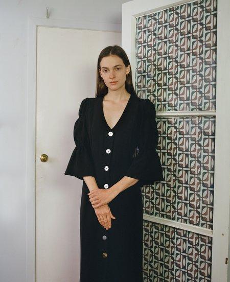 OVNA OVICH Kahlo Dress - Onyx
