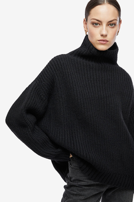 Anine Bing Sydney Sweater - Black