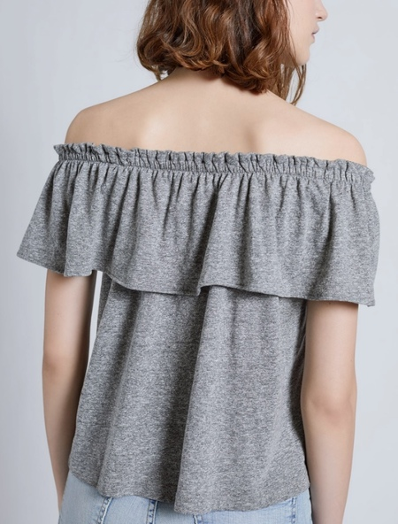 Current Elliott Ruffle Top