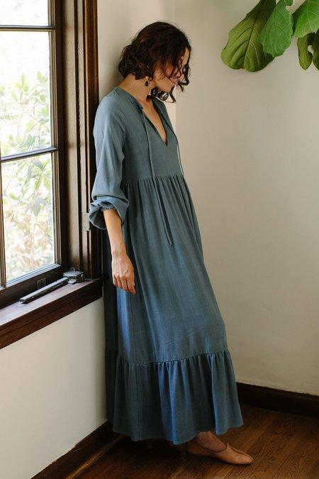 Rachel Pally Linen Finn Dress - Mallard