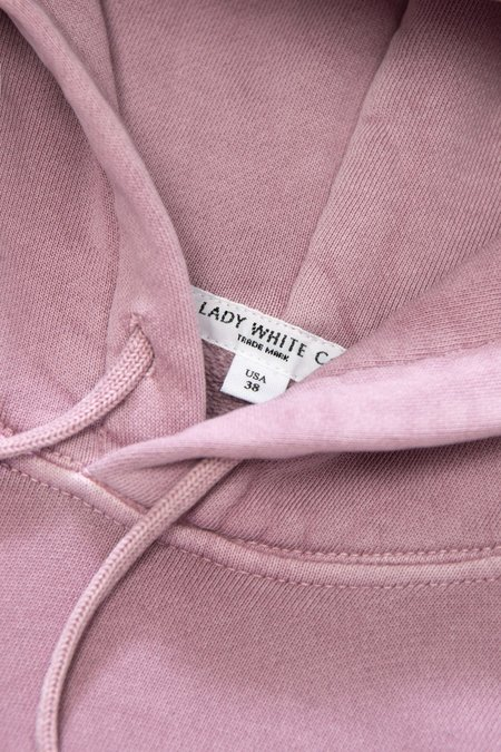 Lady White Co. LW Hoodie - Clay Pink