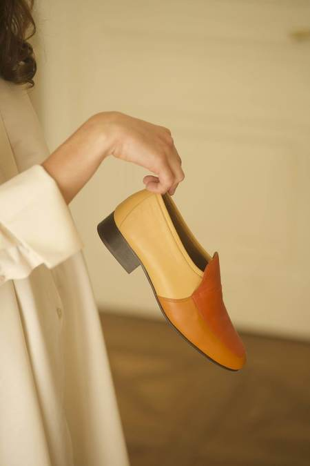 Anne Thomas Léo Nappa shoes - Tri Color