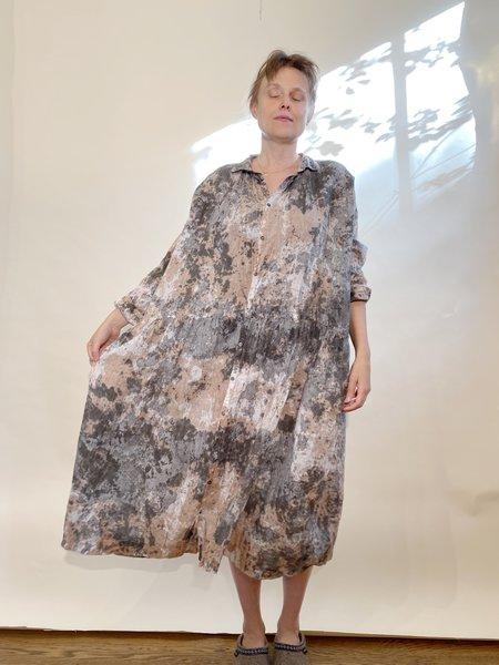 ICHI ANTIQUITES Linen Handdye Dress