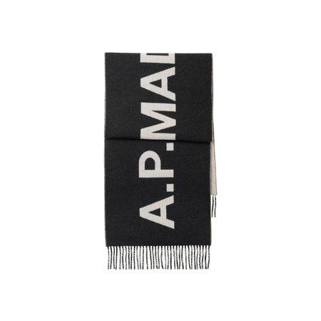 APC Angel Logo Scarf - Black