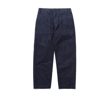 Engineered Garments 10oz Broken Denim Fatigue Pant - Indigo