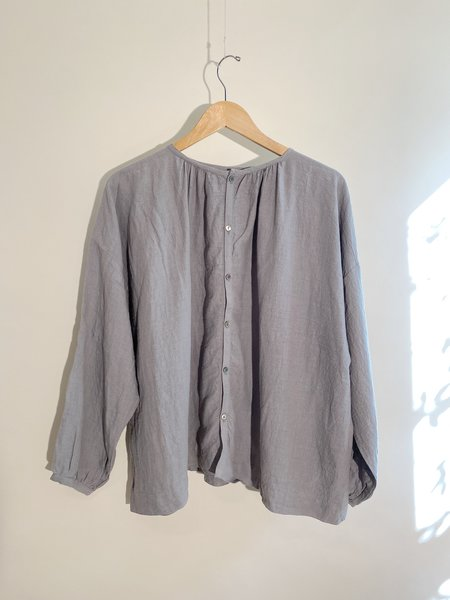 ICHI ANTIQUITES Azumadaki Sumi/Logwood Shirt