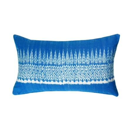 Archive New York Gabriela Jaspe Pillow - Blue