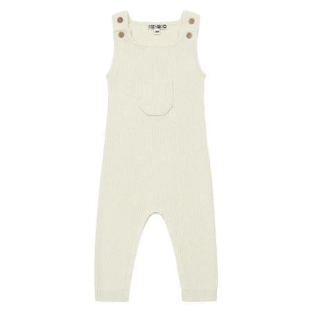 Kids Bonton Baby Minota Jumpsuit - Orgeat Cream