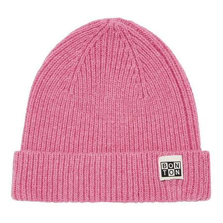 Kids Bonton Child Knit Hat - Pink Chacha