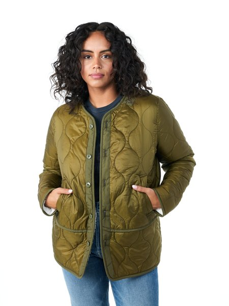 Mother Denim The Lining Jacket - Army