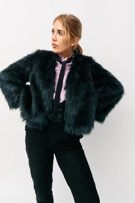 Anna Sui Faux Fur Jacket