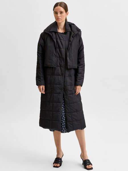 Selected Femme Bonna Coat - Black