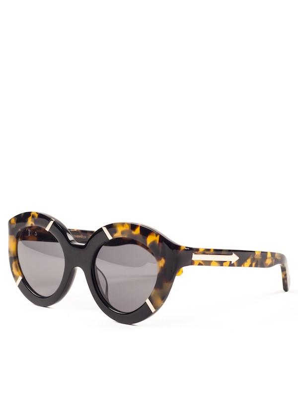 Karen Walker Eyewear - Flowerpatch in Crazy Tortoise