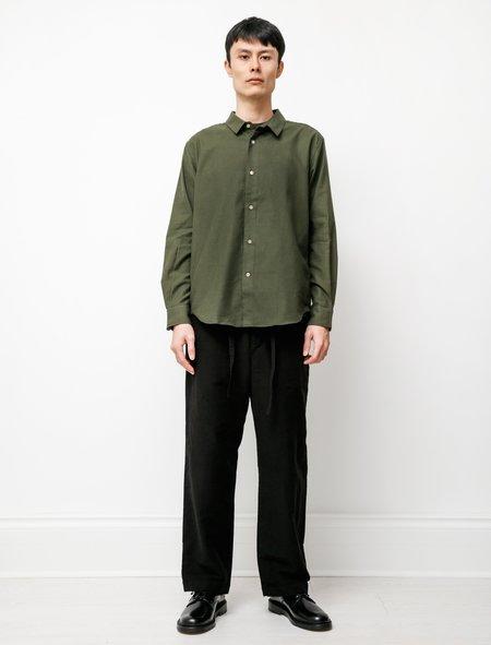 Niuhans Premium Suede Comfort Pants - Black