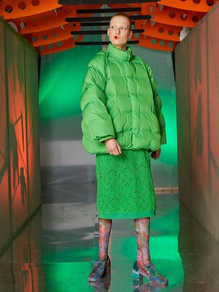 Henrik Vibskov Filo Vest Jacket - Jelly Green