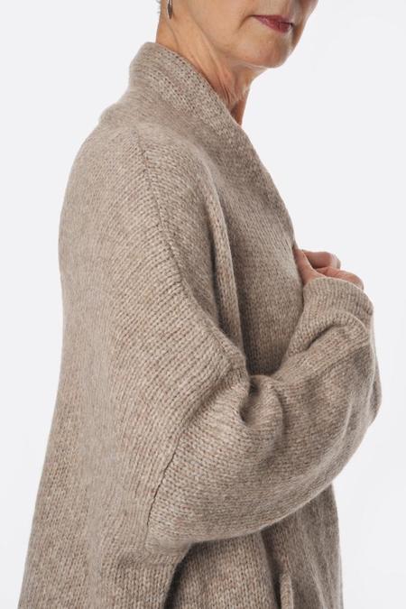 Atelier Delphine Deer Haori Coat - brown