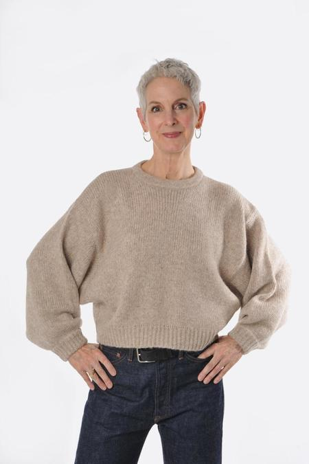 Atelier Delphine Balloon Sweater - Grain