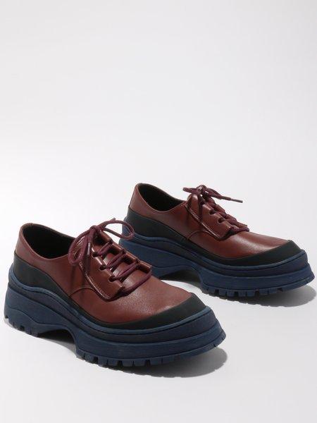 Rachel Comey Lovett Shoe - Bordeaux Nappa Leather
