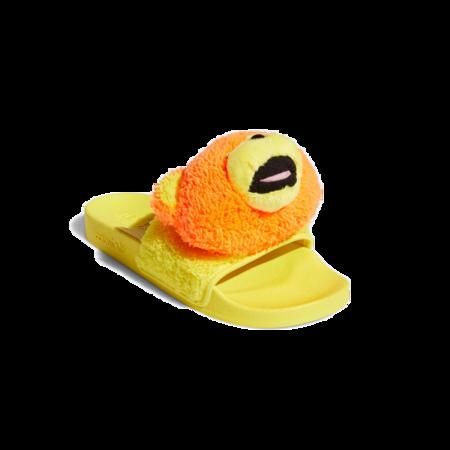 Unisex adidas x Jeremy Scott Adilette JS BearQ46582 Slide - yellow