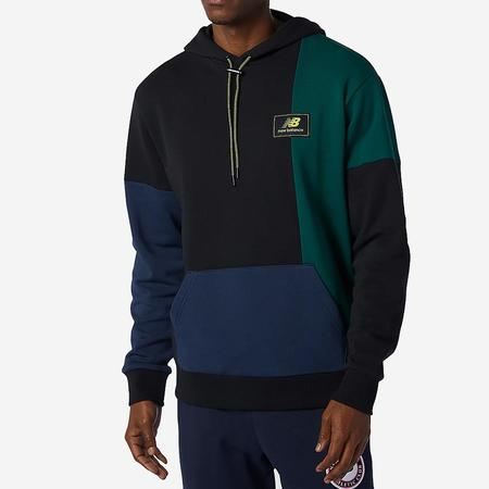 NB Athletics Higher Learning Hoodie sweater - Nightwatch Green