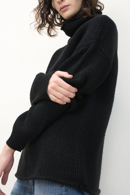 MICAELA GREG-FUNNEL NECK SWEATER