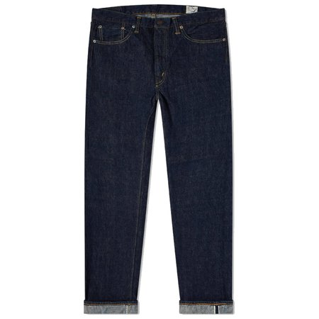 ORSLOW 107 Standard Selvedge Jean - One Wash