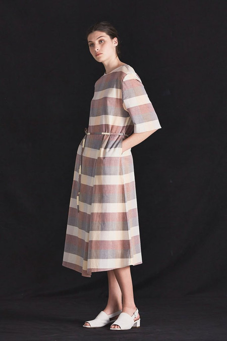 KOWTOW Coast Dress in Check