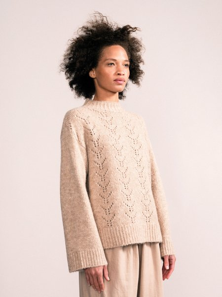 Hansel from Basel Lucia Pullover - Beige