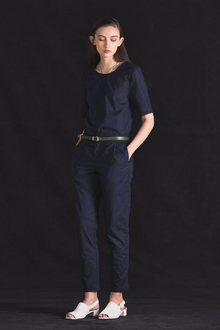 KOWTOW Picture Top in Navy