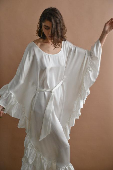 Aurora Vestita CAMELLIA KAFTAN DRESS WITH SASH