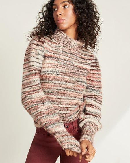 Alston Sweater in Pink Multi Color