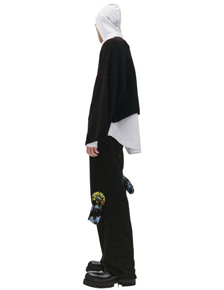 Raf Simons RS Knit Sweater - Black