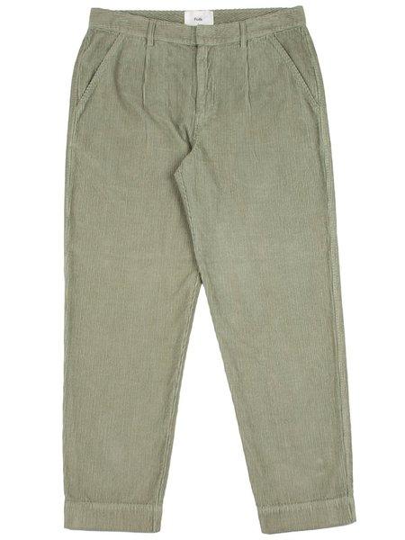Folk Clothing Signal Pants - Mineral Green