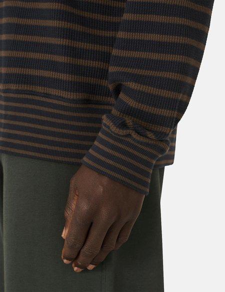 YMC Daisy Age Sweatshirt - Navy Blue/Olive