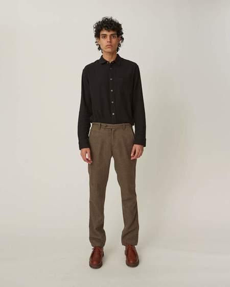 Corridor Organic Slub Twill Shirt - Black