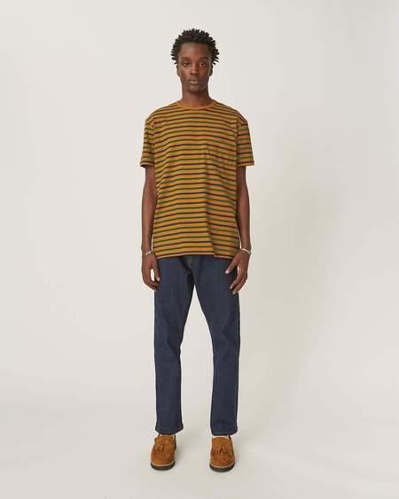 Corridor Striped T-Shirt - Thrush/Midnight