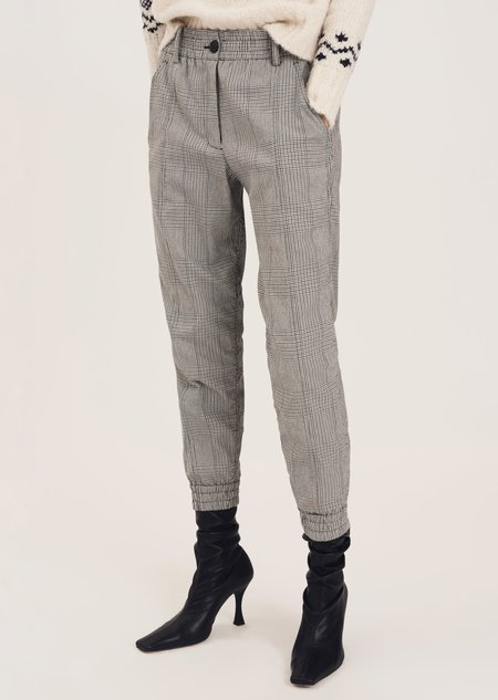 Derek Lam Phoenix Jogger pants - Loden Tile Blu