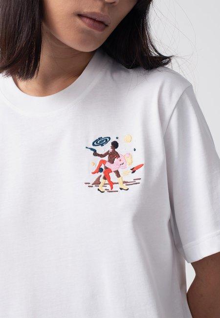 Carne Bollente Intersexstellar T-Shirt - white