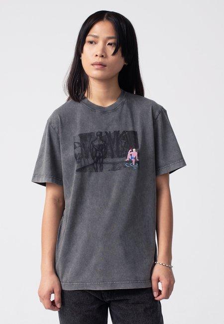 Unisex Carne Bollente Tom's Cumback T-Shirt - washed black