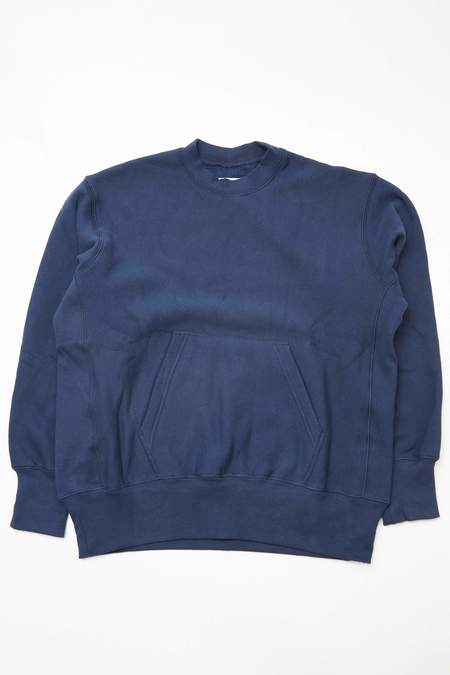 Engineered Garments Workaday Utility Sweat Shirt - Navy
