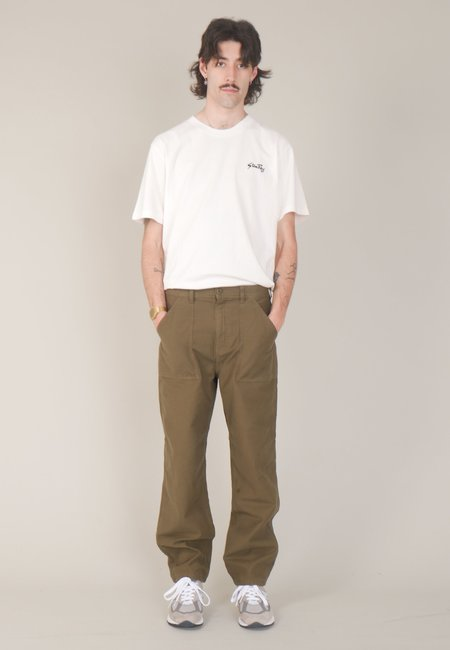 Stan Ray Fat Pant - olive sateen