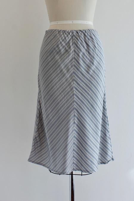 6397 Striped skirt