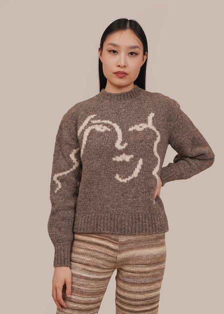 Unisex Paloma Wool Anita Sweater - Grey