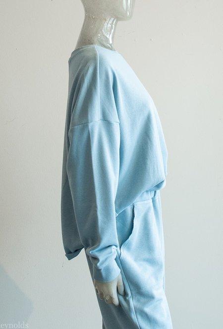Paper Label Cotton Pullover